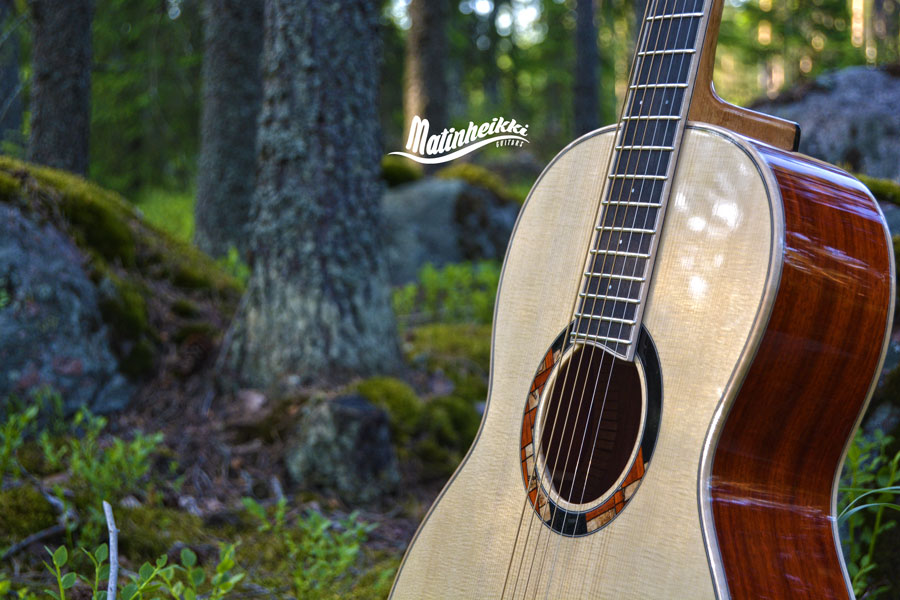 Matinheikki Instruments - traditional acoustic guitar