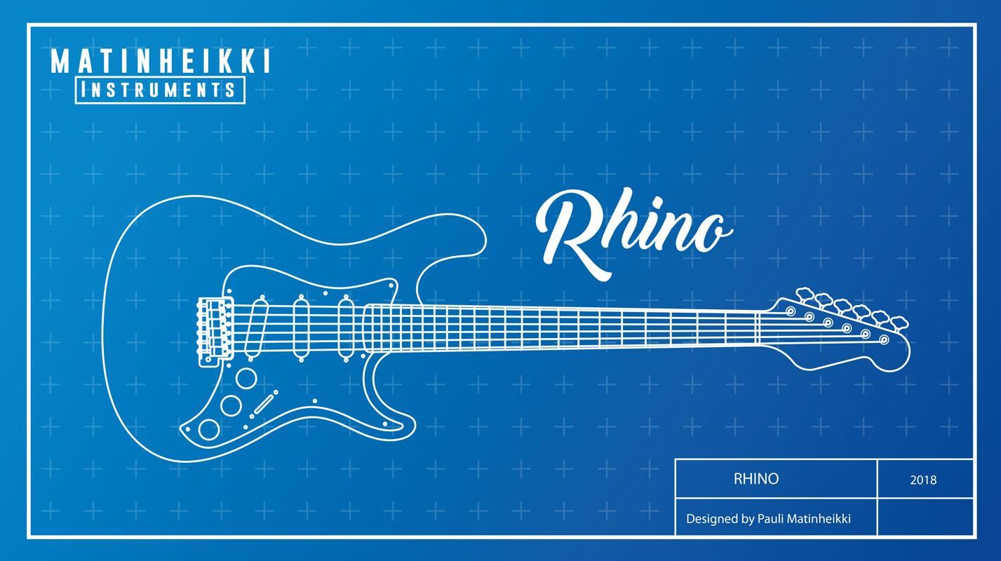 Matinheikki Instruments RHINO GUITAR