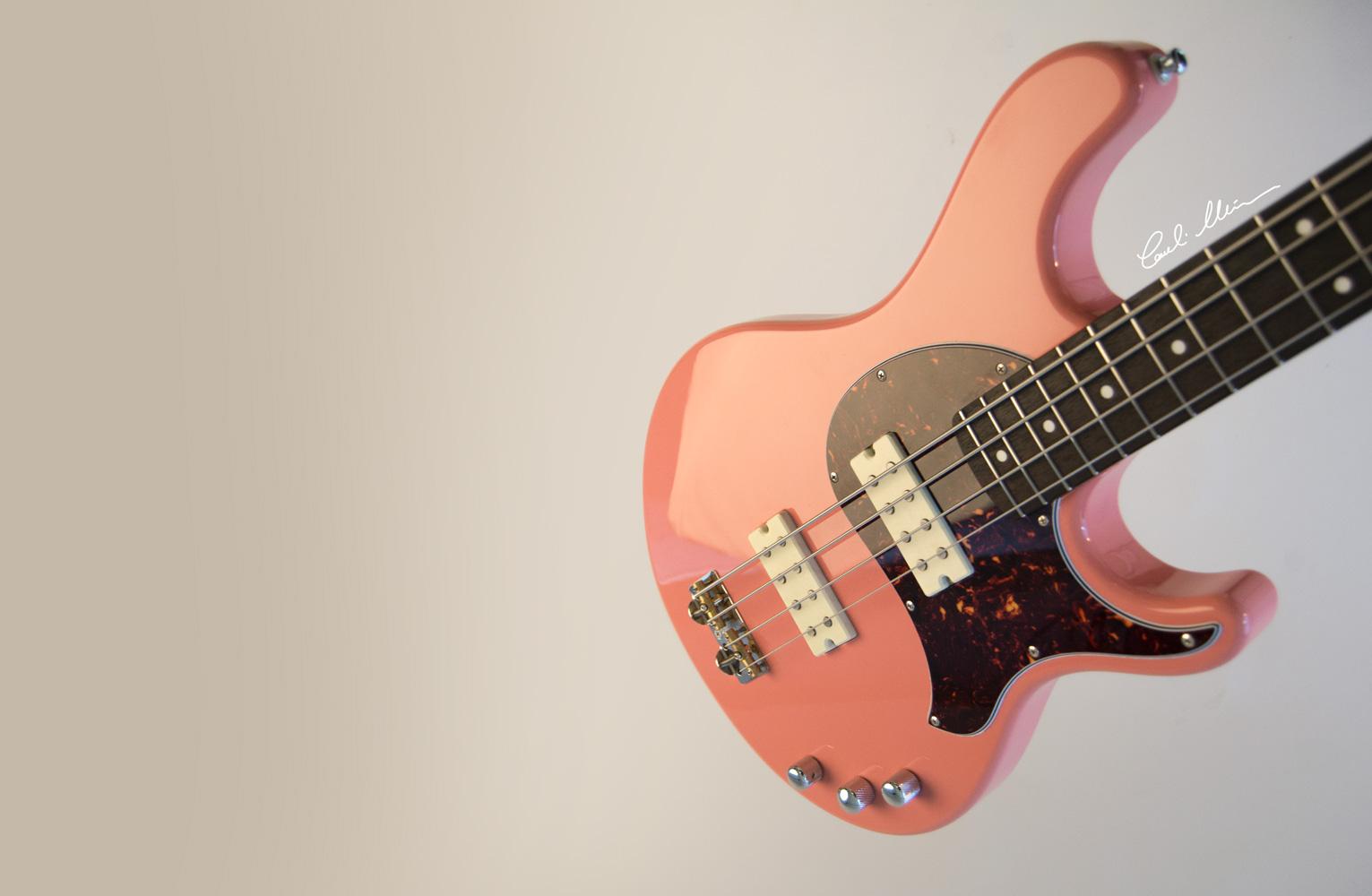 NGIN electric Bass Matinheikki Instruments